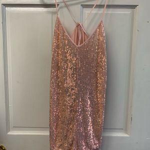 Victoria's Secret Pink Sequin Romper